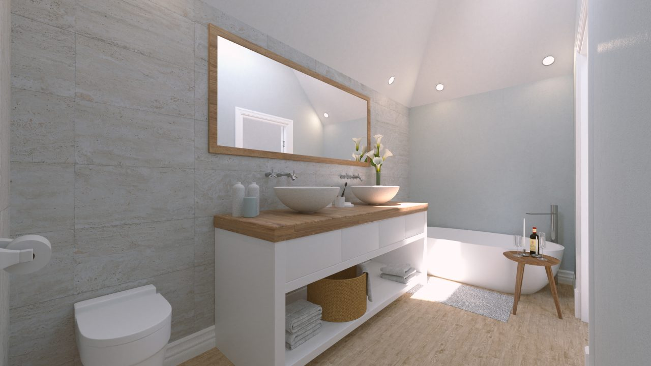 UNIT A Bathroom
