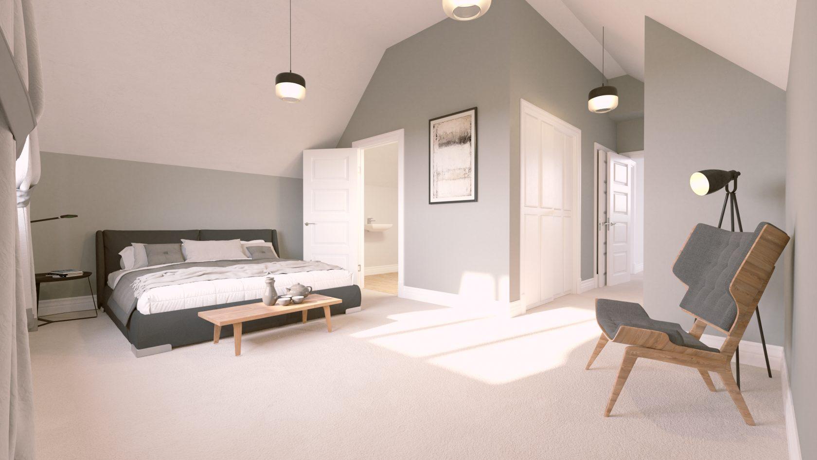 UNIT A Bedroom