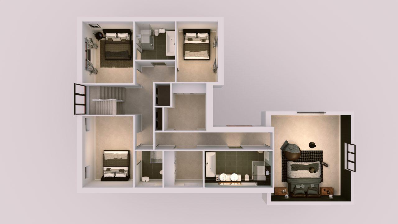 UNIT B – First floor V2